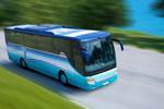Autobus auf Straße